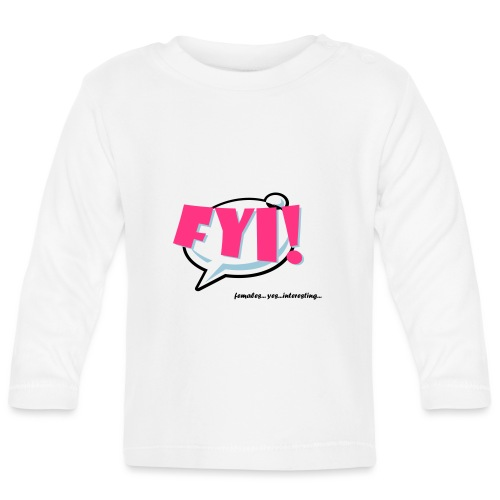 FYI.ai - Vauvan pitkähihainen paita