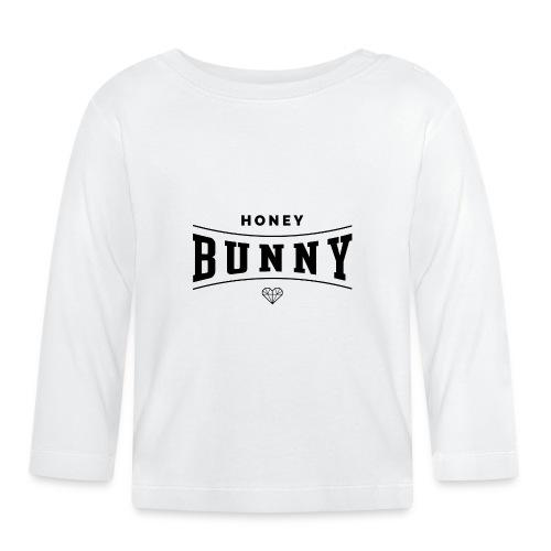 honey bunny - Koszulka niemowlęca z długim rękawem