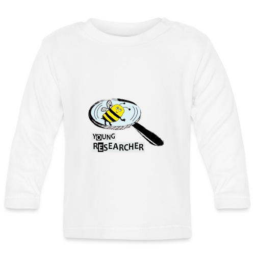 Young Researcher Bee - Baby Langarmshirt
