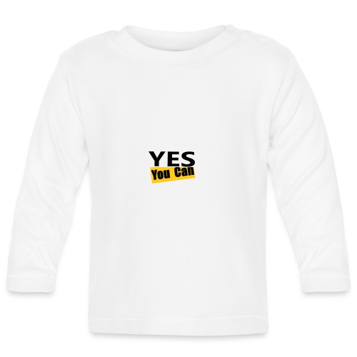 Yes you can - T-shirt manches longues Bébé