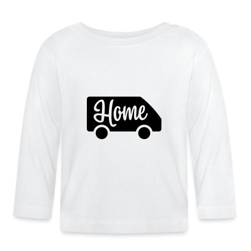 Home in a van - Autonaut.com - Baby Long Sleeve T-Shirt