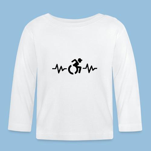 Wheelchairheartbeat1 - T-shirt
