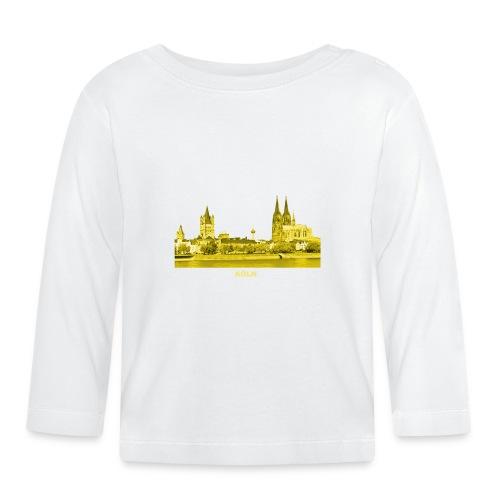Köln Dom Rhein Nordrhein-Westfalen Deutschland - Baby Langarmshirt