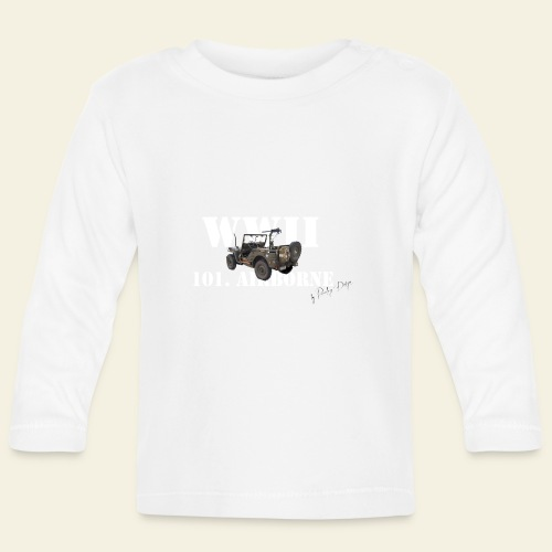 101 airborne png - Langærmet babyshirt