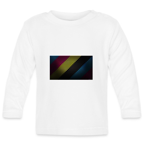 techno_dots_y_t_f-jpg - Baby Long Sleeve T-Shirt