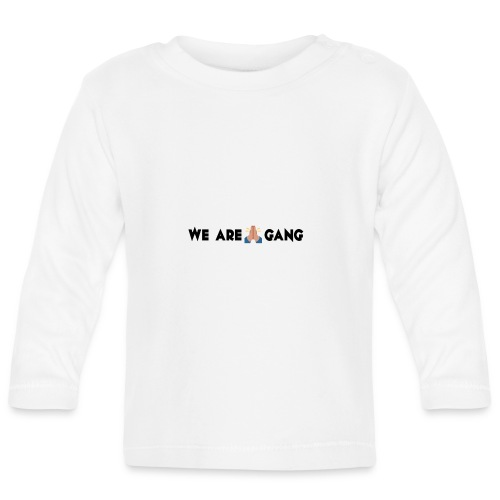 WE ARE BLESS ZWART png - T-shirt