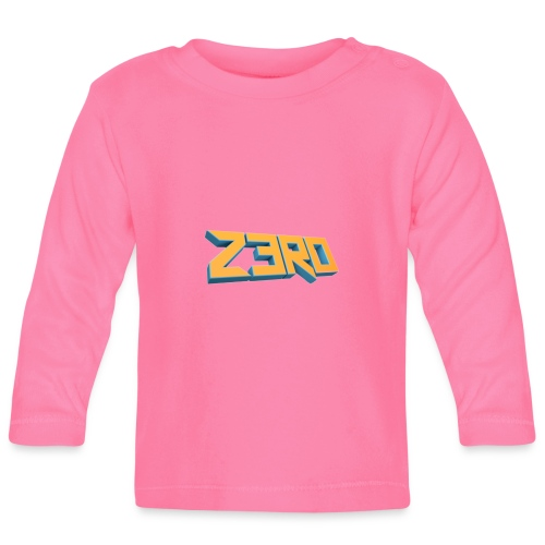 The Z3R0 Shirt - Baby Long Sleeve T-Shirt