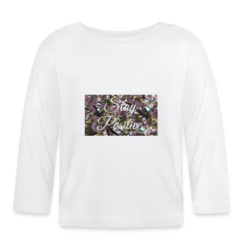 STAY POSITIVE #FRASIMTIME - Maglietta a manica lunga per bambini