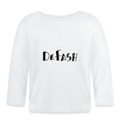 Defash1-png - T-shirt manches longues Bébé