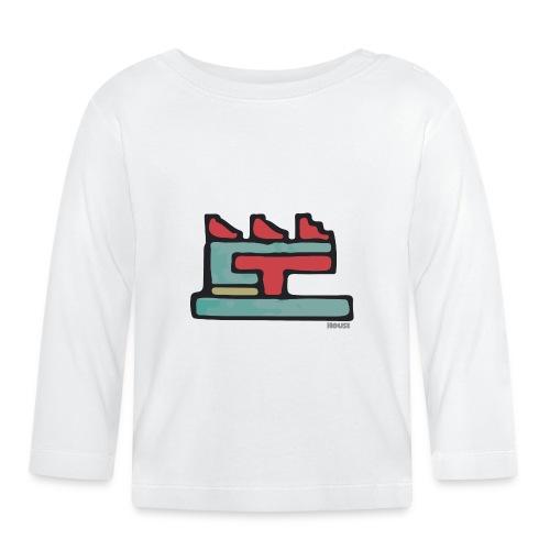Aztec Icon House Night - Baby Long Sleeve T-Shirt