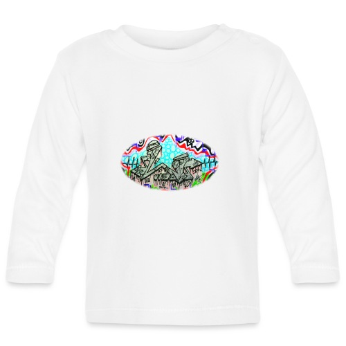 Across the Tracks Blur - Baby Long Sleeve T-Shirt