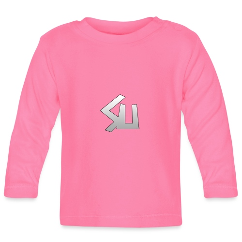 Plain SU logo - Baby Long Sleeve T-Shirt