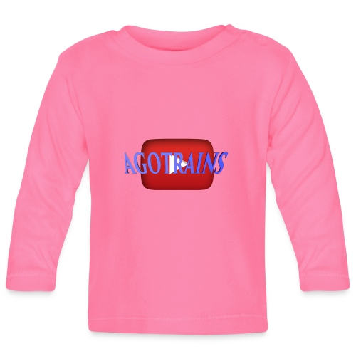 AGOTRAINS - Maglietta a manica lunga per bambini