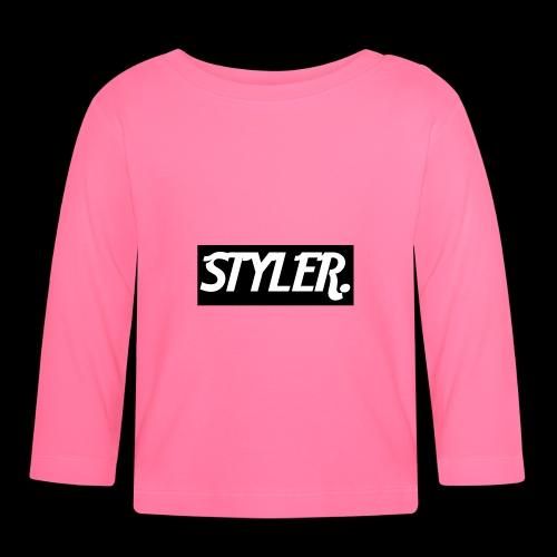 STYLER-LOGO - T-shirt manches longues Bébé