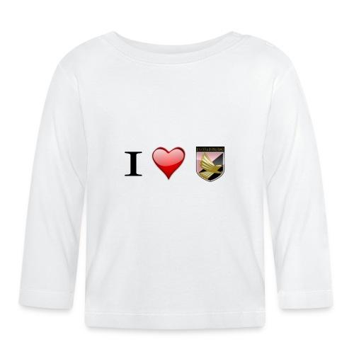 I Love Palermo - Maglietta a manica lunga per bambini