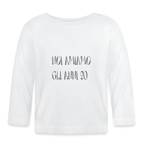 Noi amiamo gli anni '90 - Maglietta a manica lunga per bambini