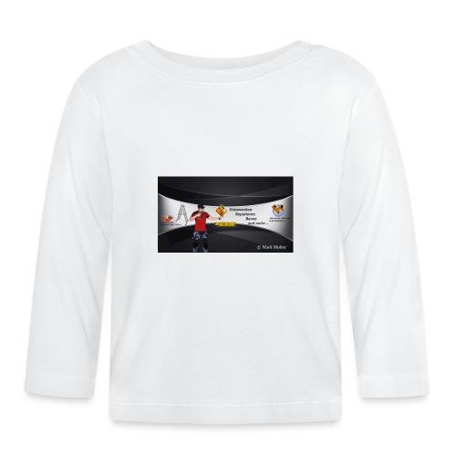 Kanalhintergrund M1Molter - Baby Langarmshirt