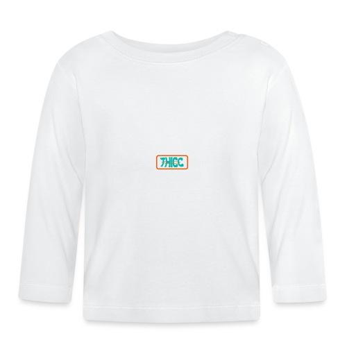 Turkis-Orange THICC Android sagen - Langærmet babyshirt