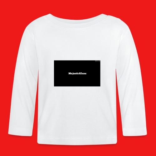 New - Langærmet babyshirt