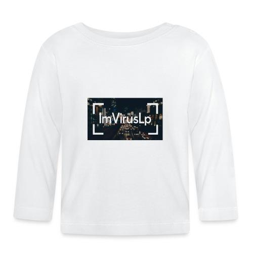 Ein ImVirusLp Banner Design Handy Hülle - Baby Langarmshirt