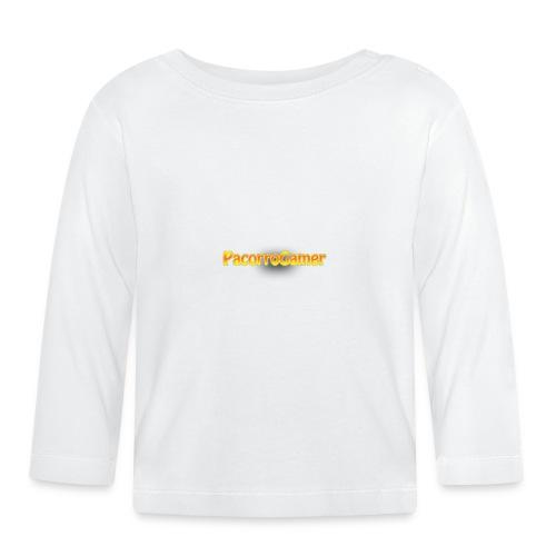 PacorroGamer logotipo de f - Camiseta manga larga bebé
