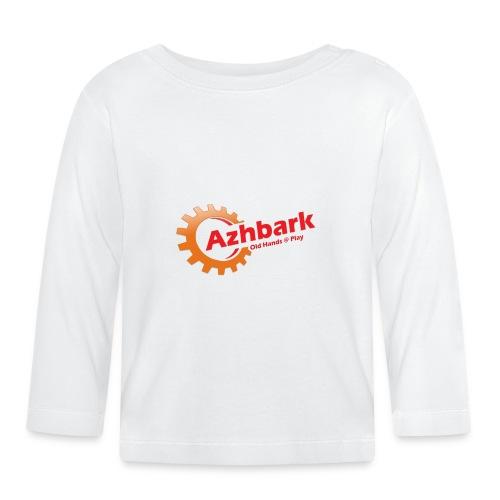 Azhbark Logo - Langærmet babyshirt