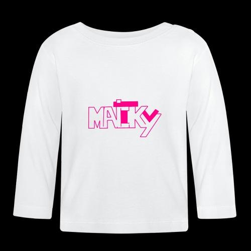 MaickyTv Pink - Baby Langarmshirt