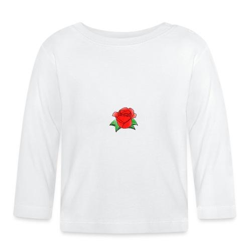 Rosa - Maglietta a manica lunga per bambini