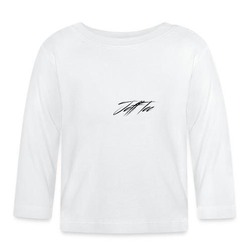 JeffTec Signature Logo White - Baby Long Sleeve T-Shirt