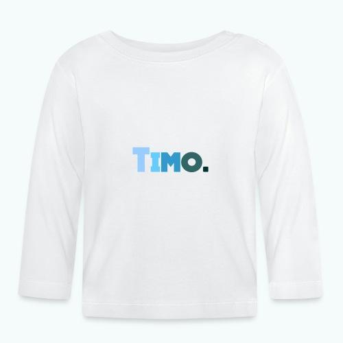 Timo in blauwe tinten - T-shirt