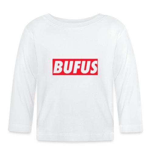 BUFUS - Maglietta a manica lunga per bambini