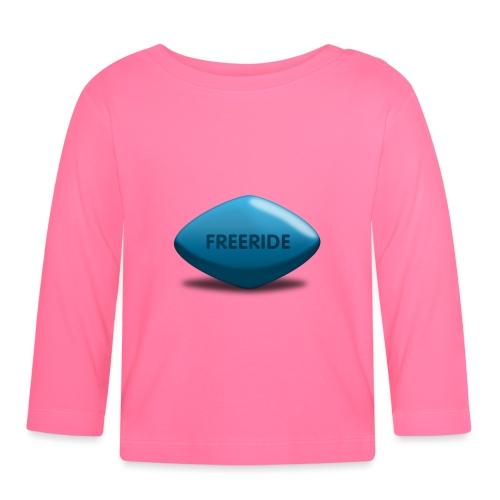 Freeride-Viagra - Baby Langarmshirt