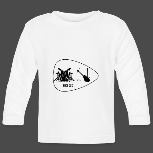 Logo Without Notes since 2012 Nummer 2 - Baby Langarmshirt