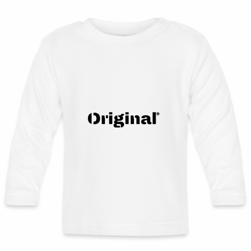 Original, by 4everDanu - Baby Langarmshirt
