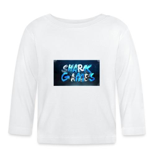 SharkGames - Maglietta a manica lunga per bambini