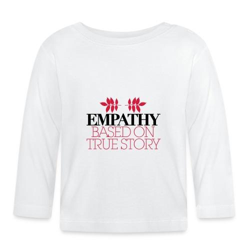 empathy story - Koszulka niemowlęca z długim rękawem