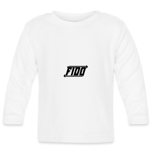 Fido - Simple - Langærmet babyshirt