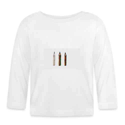 pencil - Maglietta a manica lunga per bambini
