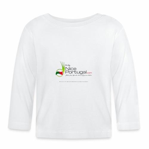 NicePortugal.com Logo - Maglietta a manica lunga per bambini