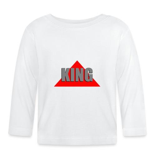 King, by SBDesigns - T-shirt manches longues Bébé