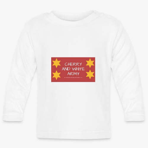 CHERRY AND WHITE ARMY NSW TOUR 2018 - Baby Long Sleeve T-Shirt