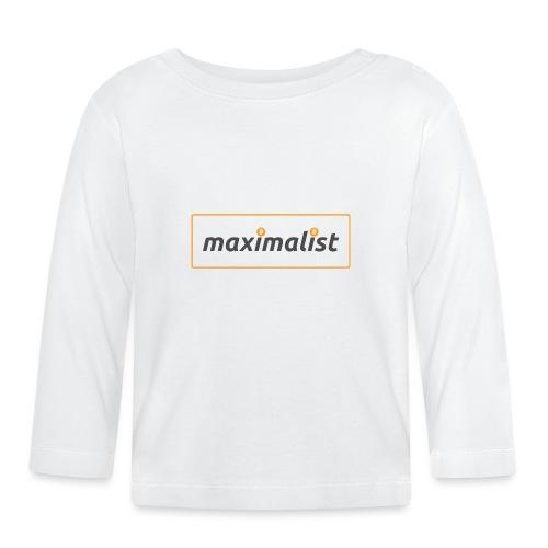 Bitcoin Maximalist - Baby Long Sleeve T-Shirt