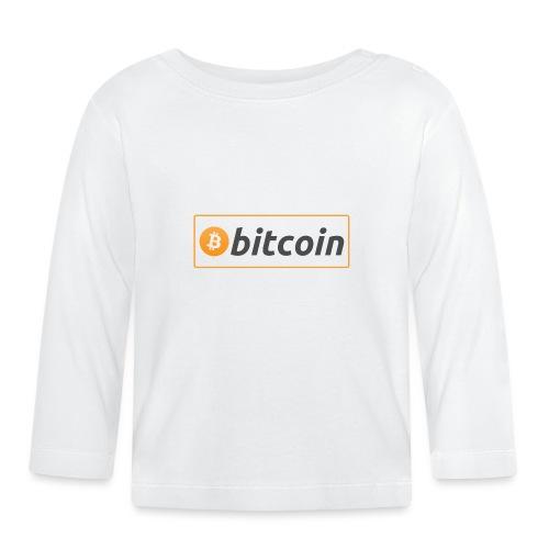 Bitcoin logo - Baby Long Sleeve T-Shirt