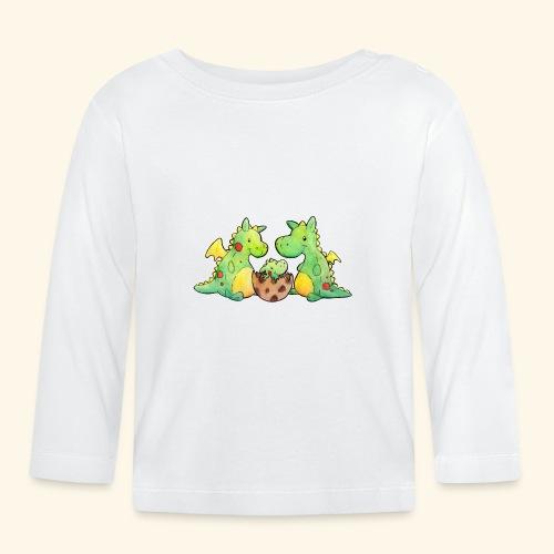 Drachenfamilie - Baby Langarmshirt