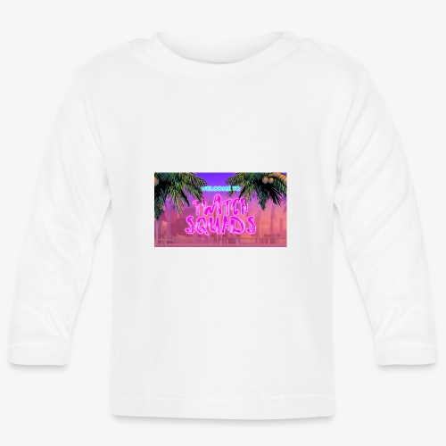 Welcome To Twitch Squads - Baby Long Sleeve T-Shirt