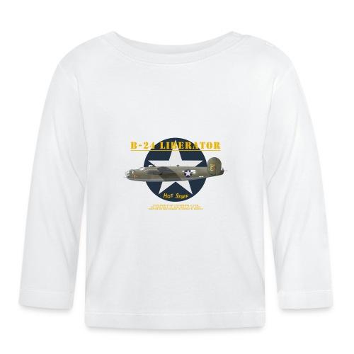 B-24 Hot Stuff - Baby Long Sleeve T-Shirt
