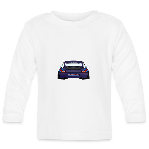 Magenta maritini Sports Car - Baby Long Sleeve T-Shirt
