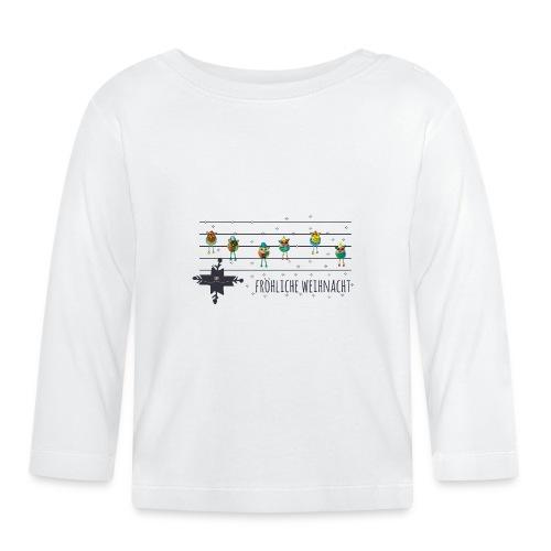 Fröhliche Weihnacht - Baby Langarmshirt