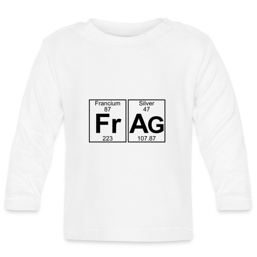 Fr-Ag (frag) - Full - Baby Long Sleeve T-Shirt
