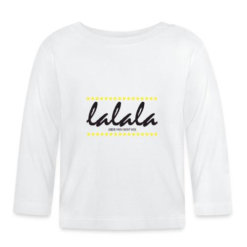 Lalala - Baby Langarmshirt
